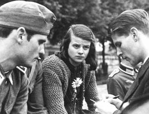 """Sophie Scholl - holocaust resister - """"Somebody, after all, had to make a start. What we wrote and said is also believed by many others. They just don't dare express themselves as we did."""""""